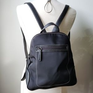 NINE WEST SMALL BLACK BACKPACK